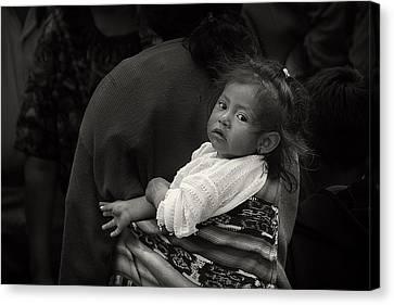 Child Of Chichicastenango Canvas Print