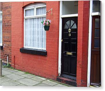 Childhood Home Of George Harrison Liverpool Uk Canvas Print