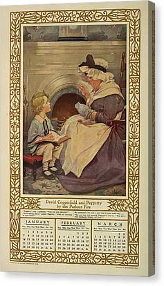Children Of Dickens. Canvas Print by British Library