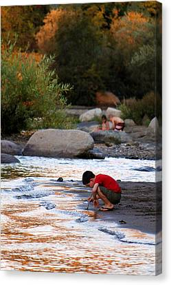 Childs Play Canvas Print by Melanie Lankford Photography