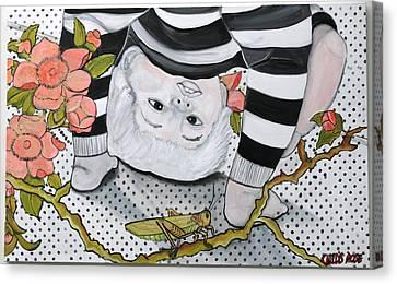 Child's Pose Canvas Print