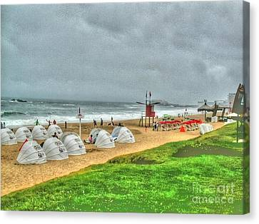 Chile Beach Day South America Canvas Print by Tap On Photo