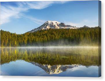 Chill In The Air Canvas Print by Ryan Manuel