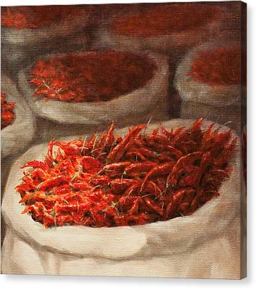 Chillis 2010 Canvas Print by Lincoln Seligman