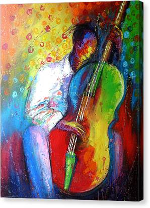 Chilln Canvas Print by Tunde Afolayan-Famous