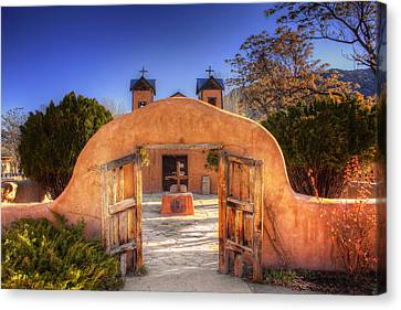 Canvas Print featuring the photograph Chimayo Mission by Wendell Thompson