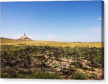 Chimney Rock - Bayard Nebraska Canvas Print by Brian Harig