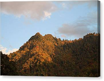Chimney Top Canvas Print by Dan Sproul