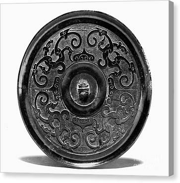 China - Bronze Mirror Canvas Print by Granger