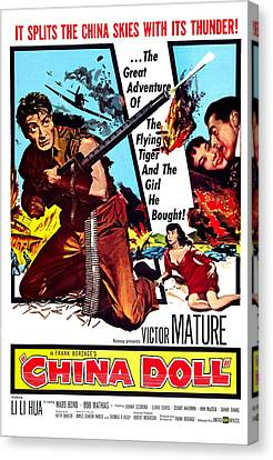 China Doll, Us Poster, Victor Mature Canvas Print by Everett