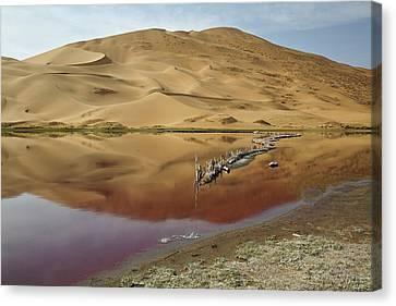 China, Inner Mongolia, Badain Jaran Canvas Print by Jaynes Gallery