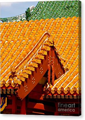 Canvas Print featuring the photograph China Pavilion by Joy Hardee