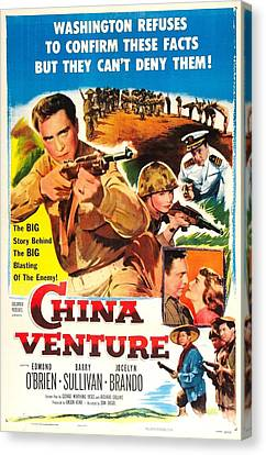 China Venture, Us Poster, Barry Canvas Print