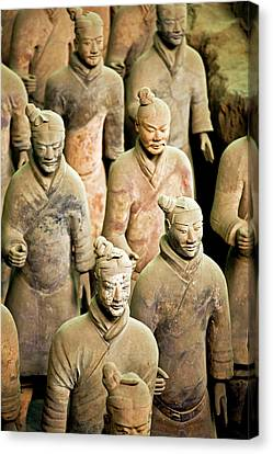 China, Xi'an, Qin Shi Huang Di Canvas Print by Miva Stock