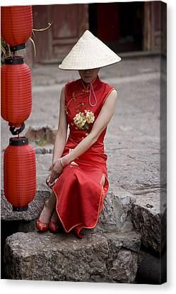 China, Yunnan Province, Shangri-la Canvas Print by Tips Images