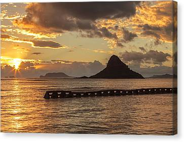 Chinaman's Hat 5 Canvas Print