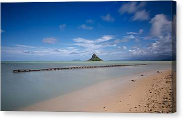 Chinaman's Hat Mokolii In Hawaii Canvas Print