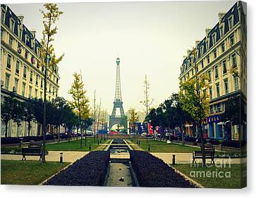 China's Paris Canvas Print by Shawna Gibson