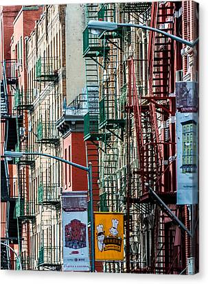 Canvas Print featuring the photograph Chinatown by James Howe