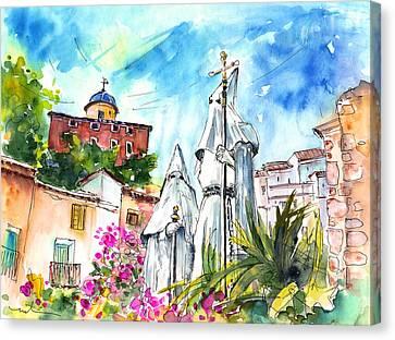 Chinchilla De Monte Aragon 04 Canvas Print