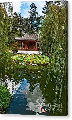 Chinese Garden Dream Canvas Print