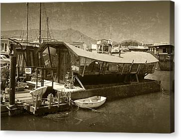 Chinese Junk Sausalito Ca Img2011 Canvas Print by Greg Kluempers
