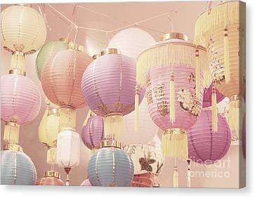 Chinese Lanterns Canvas Print by Cindy Garber Iverson