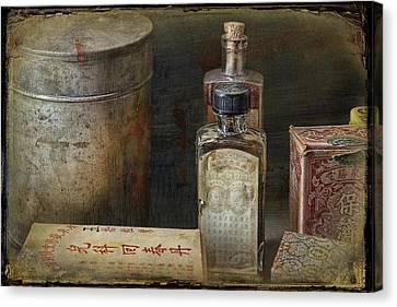 Chinese Medicinals Canvas Print
