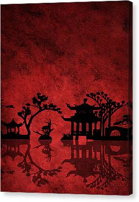 Chinese Red Canvas Print by Bruce Rolff