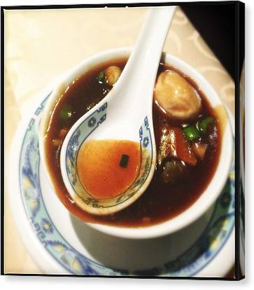 Chinese Soup Canvas Print by Matthias Hauser