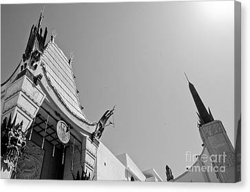 Chinese Theater Canvas Print by Dan Holm