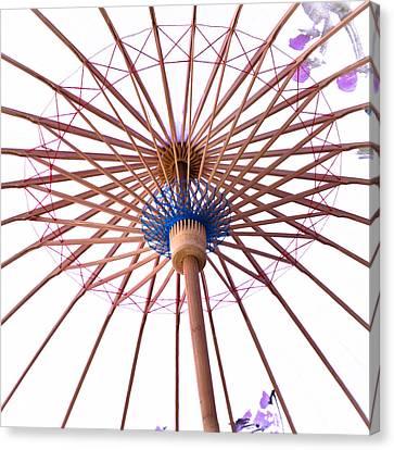 Chinese Umbrella Canvas Print by Tom Gowanlock