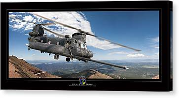 Chinook Canvas Print by Larry McManus
