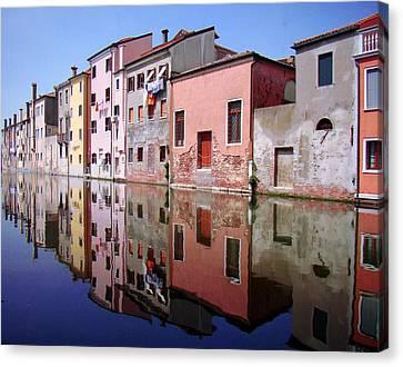 Chioggia Canvas Print by Giorgio Darrigo