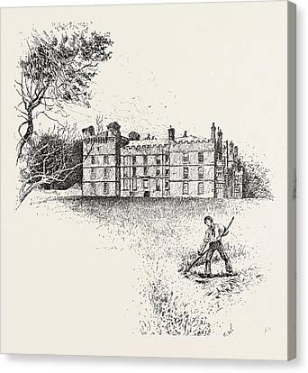Chipchase Castle,  Is A 17th-century Jacobean Mansion Canvas Print by English School