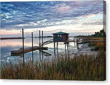 Chisolm Island Docks Canvas Print