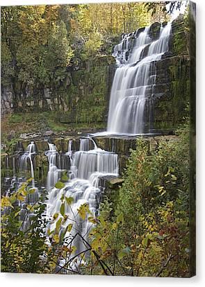 Chittenango Falls Canvas Print by Rhys Templar