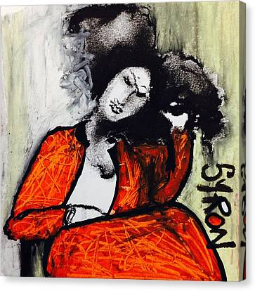 Chloe Canvas Print by Helen Syron