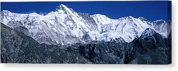 Cho Oyu From Goyko Valley Khumbu Region Canvas Print by Panoramic Images