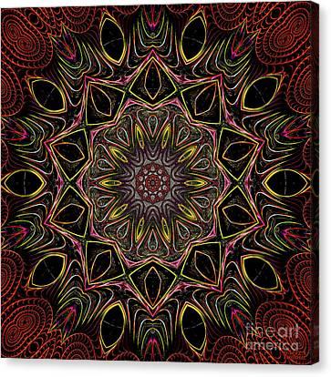 Canvas Print featuring the digital art Chocolate 3d Art by Hanza Turgul