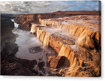 Flagstaff Canvas Print - Chocolate Falls by Guy Schmickle