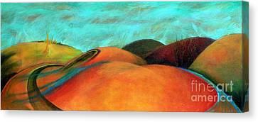 Chocolate Hills Canvas Print