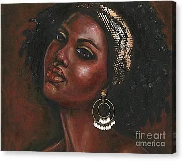 Chocolate Lover Canvas Print by Alga Washington