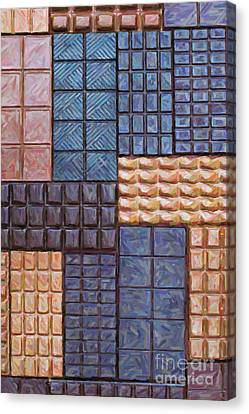 Chocolate Order Canvas Print