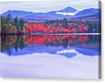 Chocorua Lake Canvas Print by Michael Hubley