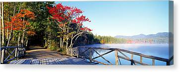 Chocorua Lake White Mountains National Canvas Print by Panoramic Images