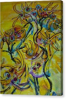 Choir Practice One Canvas Print
