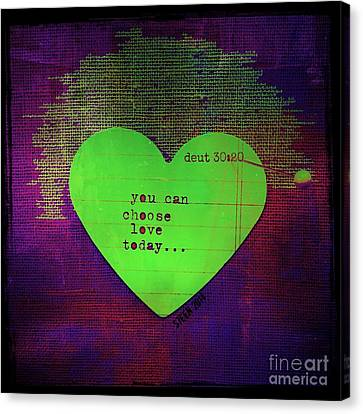 Choose Love Canvas Print