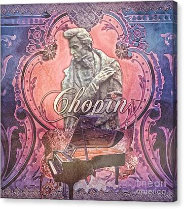 Chopin Canvas Print by Mo T