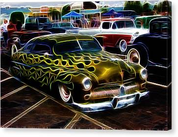 Chopped And Flamed Canvas Print